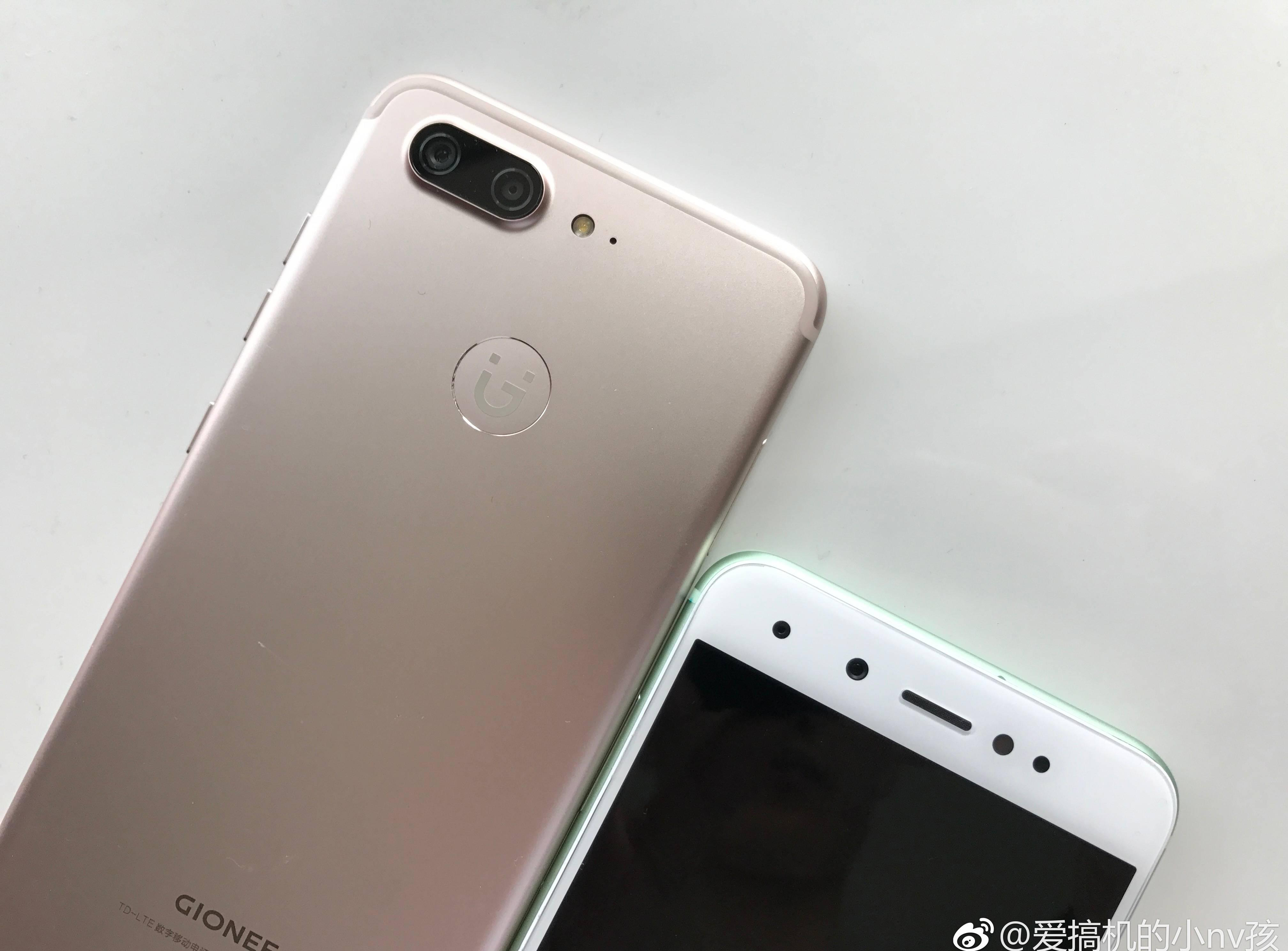 gionee s10 rumored specs and photos