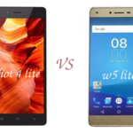 Tecno W5 Lite vs Infinix Hot 4 Lite - difference and similarities