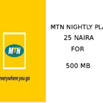 MTN Night Plan - 25 Naira for 500MB (How to Activate) In 2020
